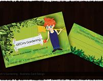 Mitch's Gardening - Branding