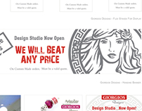 Giorgios Designs - Branding