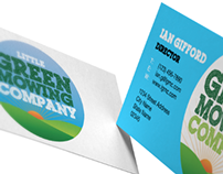 The Green Mowing Company Branding Concept