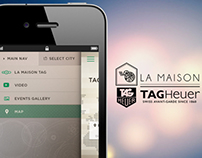 TAG Heuer - Mobile UI