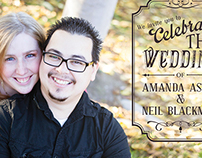 Blackman Wedding Invitations