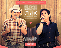 Ch&X - Qual o tamanho do seu amor