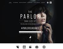 PARLOR . Park City // Site Design for #ParlorSundance