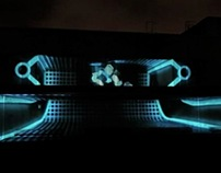 HP ePrint & TRON : Legacy Projection Mapping