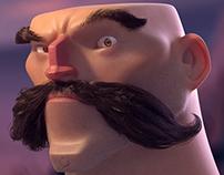 Mustachio'd Man