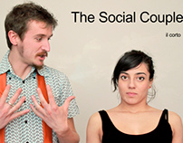 "Frame of my short film: ""The Social Couple"""
