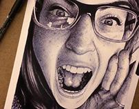 Ballpoint Pen Sketch