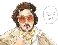 Caricatures: American Hustle