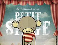 Les Mésaventures du Petit Singe Poster // Chicago