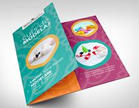 """""""Curs de modelaj"""" Folded Brochure"""