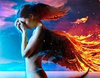 Fotolia - fallen angel
