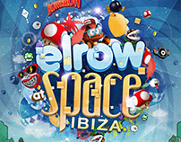 Elrow at Space Ibiza 2014