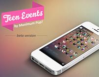 Teen Event - iPhone App