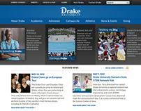 Drake University: Concept Design