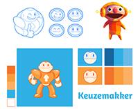 Mascot brand design
