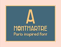 Montmartre font