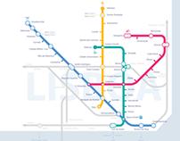 Metro Lisboa   Simplified Map