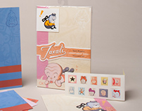 Gary Taxali's Sweetshop Toys Stationery Set