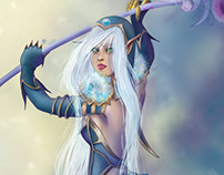 Wow fan art - Blood Elf Mage