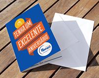 Cartão de Aniversário - Óticas Rangel