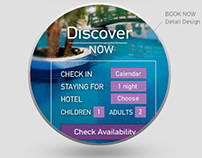 Website Responsive design for Hotel 2014