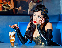 Latex Noir (with Jade Vixen)