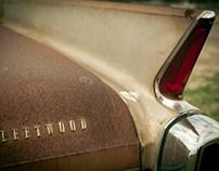 Dilapidated Cadillac