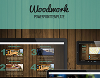 Woodwork PowerPoint Template