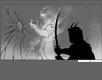 Sword of the Gods storyboard