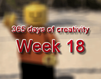 365 days of creativity/art - Week 18