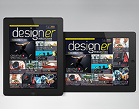 iPad/Tablet Magazine InDesign Layout 03