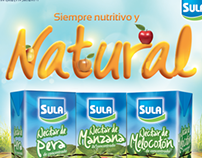 Diseño tipográfico Nectares Sula
