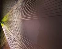 Nike flyknit installation. Nike NYC.
