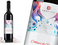 Emovino Logo Design - Wine Distributor, Paris