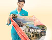 Garuda Indonesia Airlines 2014 Calendar