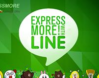 Line: Express More!