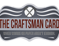 The Craftsman Card - Website Design