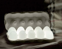 EGGLIGHT (hen's eggs and leds combination))