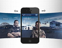 "U.S. Air Force ""Project: Supercar"" Mobile Site"