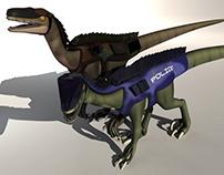 Velociraptor Police