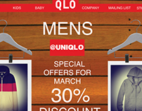 Uniqlo websites