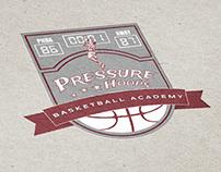 Pressure Hoops Logo Design