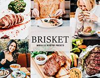 Free Brisket Mobile & Desktop Lightroom Presets