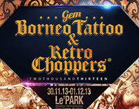 GEM Borneo Tattoo  & Retro Choppers 2013