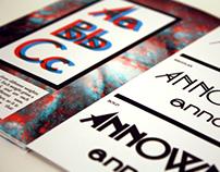 ANNOWN Typeface