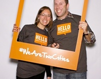 #WeAreTwoCities Photo Booth