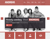 ANDREAS Responsive Template