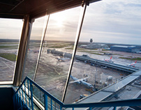 Manchester Airports Old Control Tower