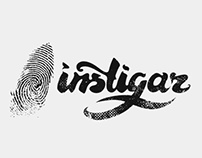 Instigar - surf brand logo development