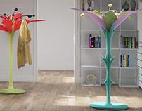 Lily's Lilium  -  Coat Hanger